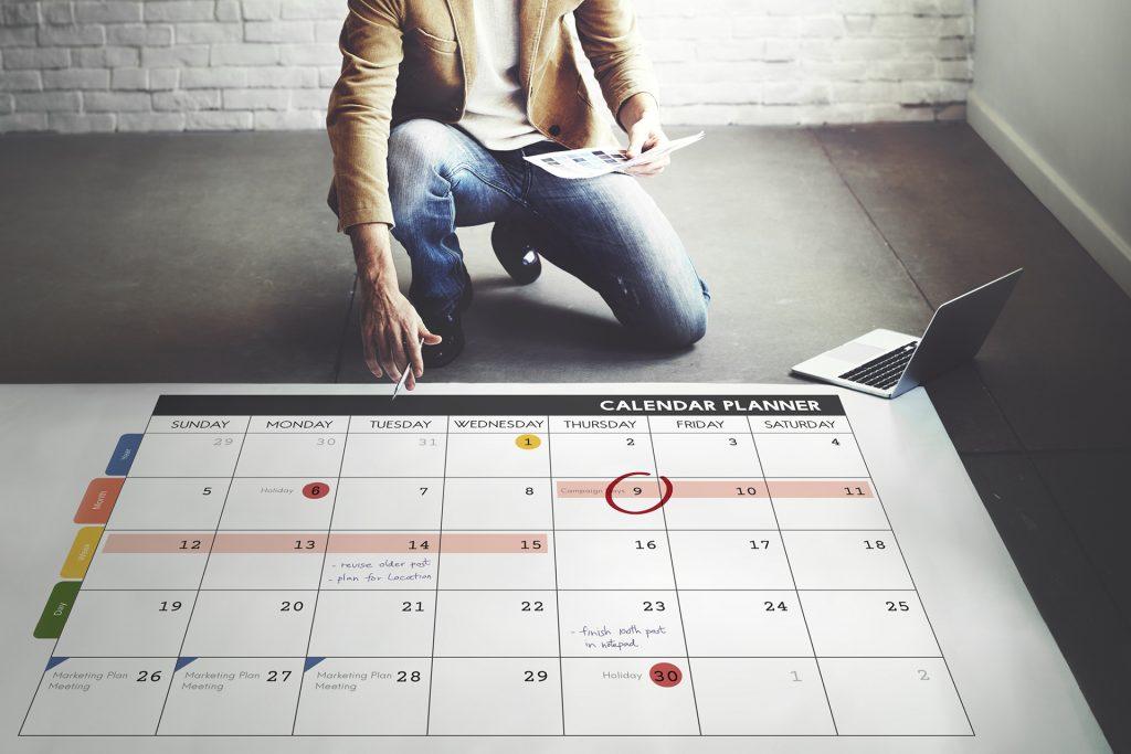 mediaplan kalender