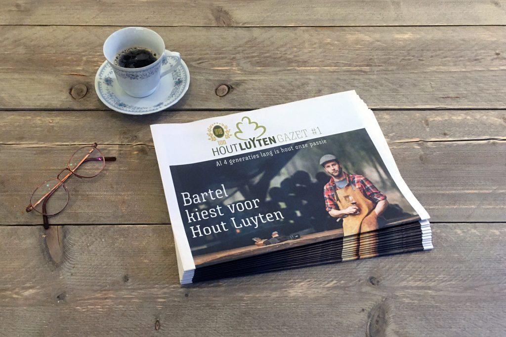 magazine Hout Luyten Bartel Van Riet grafisch ontwerp