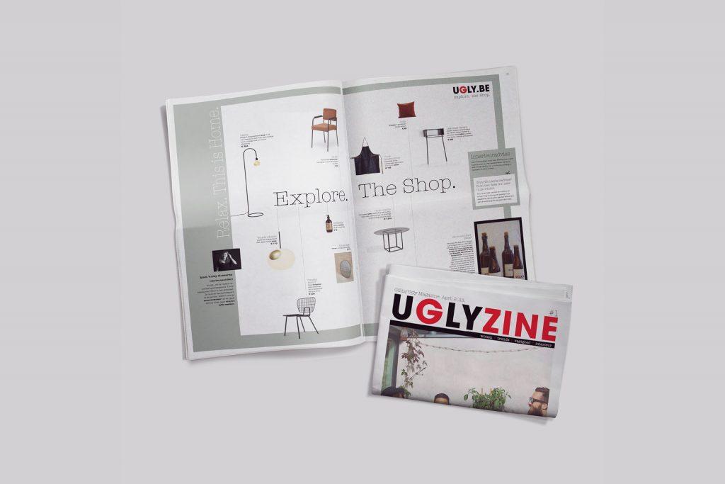 magazine vastgoed UGLY - grafisch ontwerp Media-Architect
